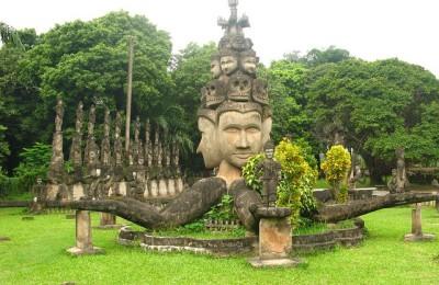 Buddha Park Laos Vientiane