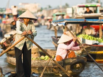 Cai Rang Floating Market indochine tours
