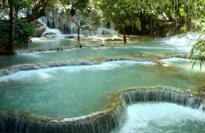 Kuang Sii Fall in Laos