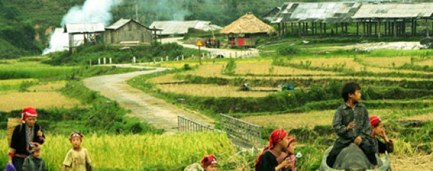 Mai Chau village in VietNam