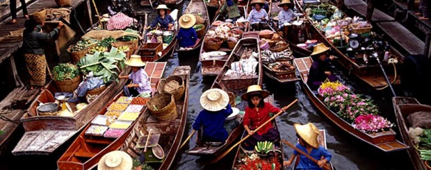 Floating Market - Thailand tour
