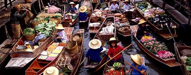 Floating Market - Thailand tour