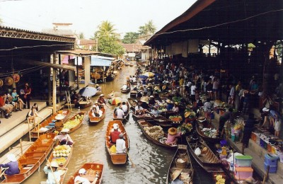 damnoen saduak floating market - thailand tour