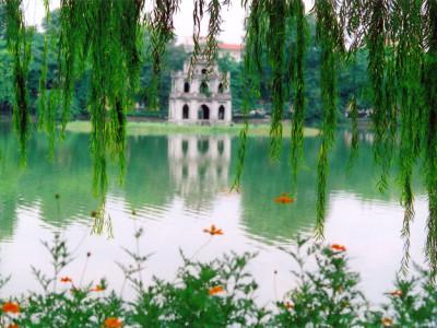 hanoi sword lake - Vietnam tour