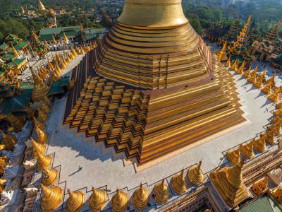 Shwedagon pagoda - Myanmar tour