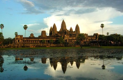 Angkor Thom in Laos