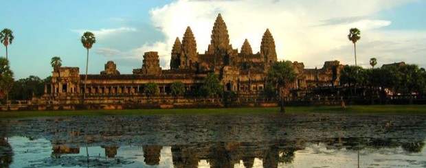 Angkor Thom in Laos