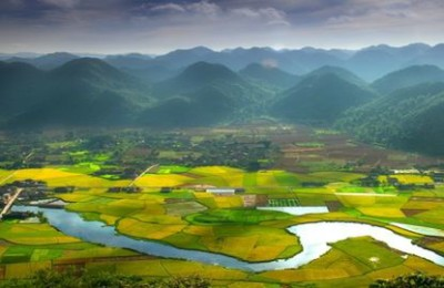 Dong Van plateau in Vietnam