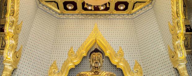 Golden Buddha Wat Traimit - Thailand tour