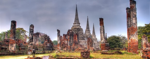 Wat Phra Sri Sanpetch - Thailand tour