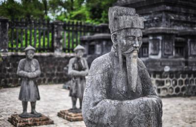 tomb of khai-dinh - Vietnam tour