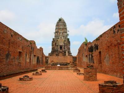 wat ratchaburana - thailand tour