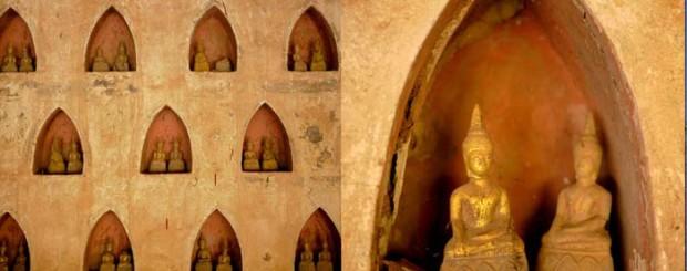 wat sisaket collage - Laos tour